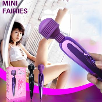 Mini USB wireless AV massager vibrator magic wand King, powerful & silent wand messager vibrator, Top quality!!! LY-18