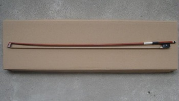 Viola bow brazilwood bow,  ebony frog, Nickel Copper(Silver color)  Viola bow of SFV900