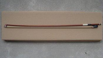 Viola bow brazilwood bow,  ebony frog, Nickel Copper(Silver color)  Viola bow of SFV900