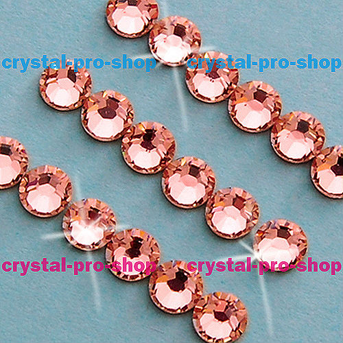 GENUINE Swarovski Elements ss20 Rose Peach ( 262 ) 144pcs Iron on 20ss Hot-fix Flatback Glass Crystal Hotfix rhinestones Hot Fix(Hong Kong)