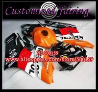 Customized fairing -white black yellow Injection mold fairing kit FOR Honda / Honda CBR1000RR 2004 2005 CBR1000 04 05 RX2C