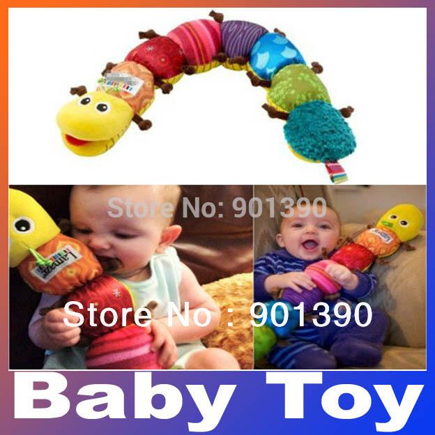 Populaires coloré. musique,inchworm des doux, belle de développement éducatif en peluche jouet de bébé, livraison gratuite
