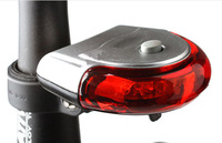 5 LED Battery Night UFO Led Bicycle light Bike Seatpost Warning Lamp Bicycle Safety Flashing bicycle Taillight