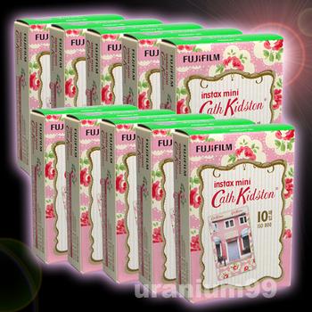Polaroid Fuji Fujifilm Pink Blossom Flower Instax Mini Film x 10 pack ( 100 sheet photo ) for Instant Camera 7S 8 25 50S 55i