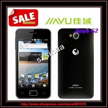 IN stock  original jiayu G2 Daul core  4.0inch touch screen IPS 1GB+4GB MTK6577 android 4.0 GPS Bluetooth Smartphone / Anna