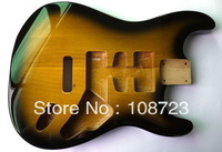 Alder Body Replacement for Strat Guitar 2 Tone Sunburst