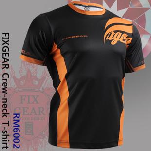 {No. RM-6002} FIXGEAR Tennis Golf T-Shirts Custom Design Printing Men's Sports Tee  Crew Neck Short T-shirts