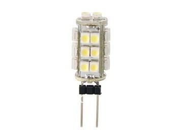 Free Shipping Wholesale DC 12V G4 26 LED Lamp White/Warm White light SMD 1210 Home Car RV Marine Boat LED Bulb Lamps  X2