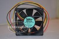 FANS HOME Original nidec d08t-12pu 8025 12v 0.22a line server fan