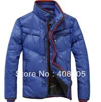 Men Wear Thick Winter Outdoor Windbreaker Heavy Coats Down Jacket Clothes M L XL XXL Free Shipping 3 Colors Whosale