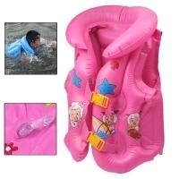 New Arrival B Code Children Inflatable Life Jacket Life Vest  Inflatable Swimsuit Swimming Vest For Children Random Color