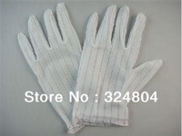 Reusable Anti-static Polyester Gloves for PC Repair Electronic Work Computer Network Testing
