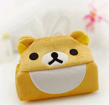 Free shipping,10pcs/lot,Free Shipping/Cartoon fabric tissue  box extraction/towel sets/Tissue Box/Table Decoration