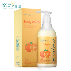 Fresh fruit whitening shower gel body wash 300ml whitening moisturizing cleaning rejuvenation(China (Mainland))
