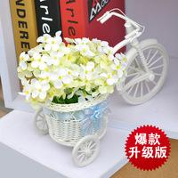 Modern quality rattan floats flower wind chimes artificial flower set fashion decoration vase