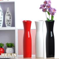 Fashion modern brief fashion ceramic vase flower crafts decoration