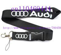 Hot 20PCS Job Lot  Car Logo Style Lanyard  key ring mobile phone lanyard neck strap string Free shipping  C-4