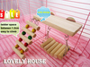 Flexible Wooden Toys Rat Mouse Hamster Parrot Hanging Ladder Bridge Shelf Cage accessories(China (Mainland))