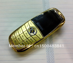 Unlocked Luxury Mini F6 Dual Band Dual Sim mp3 bluetooth Car Phone russian keyboard available(China (Mainland))