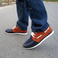 Nubuck leather shoes casual shoes men male skateboarding shoes fashion shoes