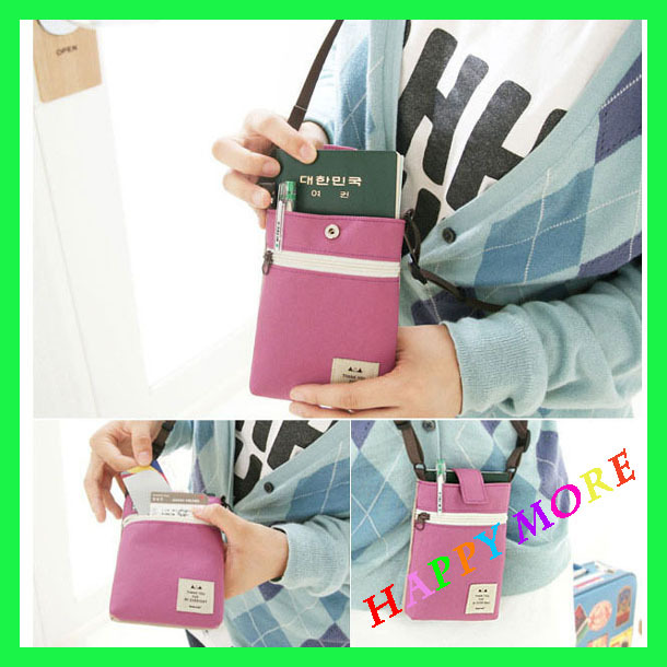 Free Shipping 5pcs/lot Oxford multi-purpose portable digital Camera case Cell Phone pouch Fashion bag(China (Mainland))