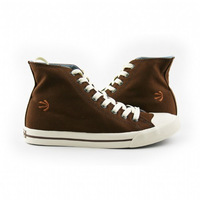 Burnetie Chocolate male casual canvas shoes