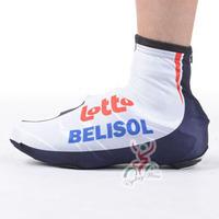 2013 LOTTO tour de france pro team bike bicycle shoe covers, windstopper & waterproof cycling shoe covers