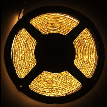 5M Warm White 600 Leds Non-Waterproof 3528 SMD LED Strips Lights 16.4FT 120Led/m