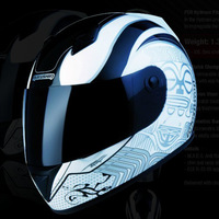 Motorcycle helmet marushin helmet 778rs smiley