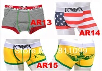 ^_^ Better quality Free shipping 3pcs/lot sexy mens boxers briefs men boxer shorts men's underwear