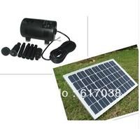 20Watt 12V poly solar panel with solar brushless fountain.solar pump system  /freeshipping