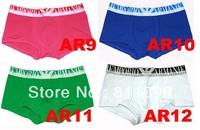 ^_^ Free shipping 4pcs/lot  Cotton Underwear Men Underwear Boxer Shorts ,Men's Briefs,TOP quality