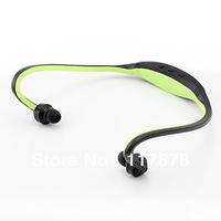 Wholesale sport mp3 headphone to listening the beat of hearts music TF jack free shipping
