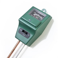 hygrometer ph meter Illuminometer soil moisture meter no need battery for garden plants Freeshipping
