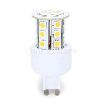Free Shipping G9 5050 SMD 21-LED Warm White Light Lamp