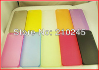 Wholesale 1500pcs/lot New Fashion Ultra Thin 0.3mm Matte Finish Slim Hard Back Cover Skin Case For iPHONE 4 4S 4G