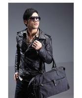 2013 New Free shipping Quality goods in Europe  thick canvas  bag/men's casual / single shoulder bag