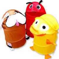 Animal cartoon toy storage basket child storage basket folding toy storage 0300