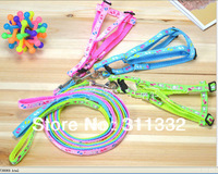 Free shipping 10pcs/lot Lovely Fashion Safety lead Pulling Harness Leash Rope 3 sizes random mix colors