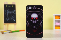 OEM design plastic Case for smart phones- Carved and Colorful artwork  Skull Head