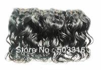 Nicolefashion WQ1305304  wavy Brazilian virgin double drawn queen hair extensions