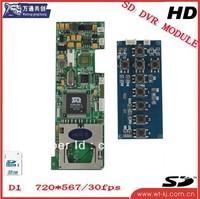 1Channel Car DVR module -- Digital Video Recorder