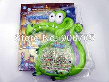 Free shipping Where s My Water Swampy Crocodile English Spanish Bilingual Learnig machine educational toys With