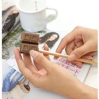 36pcs cute chocolate pencil cutter/pencil sharpener/Novelty sharpener/ Free shipping