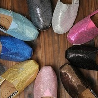 New fashion happy Mary lazy glitter shoes, canvas shoes for women's shoes is super comfortable