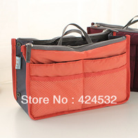 Multifunctional double zipper storage bag large capacity travel bag cosmetic bag 13350