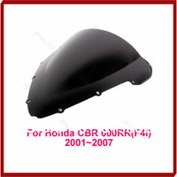 A31 Free Shipping Smoke Motorcycle Windscreen Windshield For HONDA CBR600F4i CBR600 F4i 01 02 03 04 05 06 07