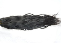 Nicolefashion WQ1305312 Peruvian virgin double drawn hair weft  extensions