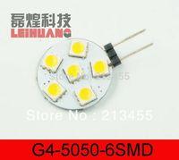 2014 Limited Chandelier Lamps 500pcs G4 6 White/warm White Smd Led 5050 Light Home Car Rv Marine Boat Lamp Bulb Dc-12v Wholesale