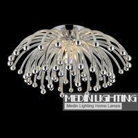 2014 hot sell  modern  bedroom lamp chrysanthemum ceiling light  diameter 60cm   free shipping